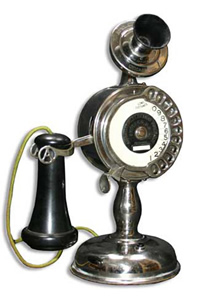 Strowger Automatic dial candlestick - 1905